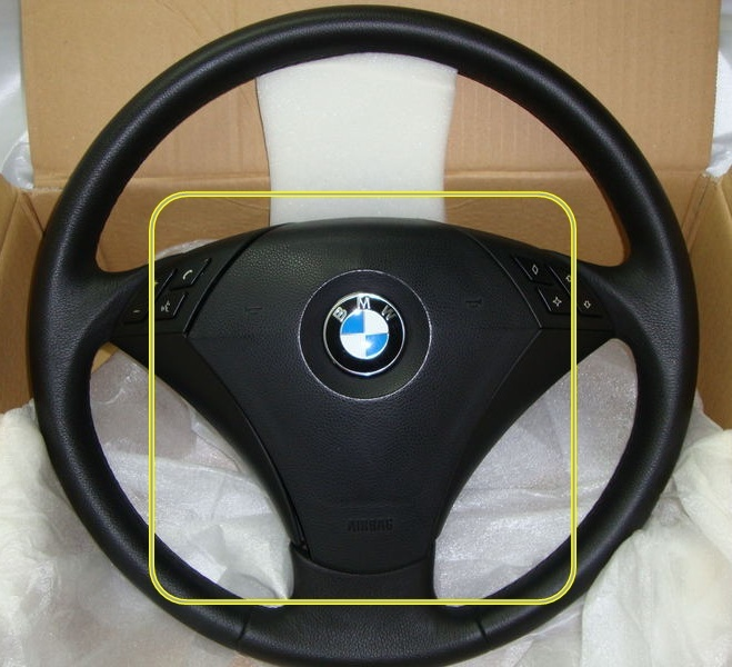 Airbag Module Driver S Side Steering Wheel Bmw E60