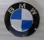 BMW bonnet badget emblem 74mm  - E46 / E90 / F30 / F31 / F32