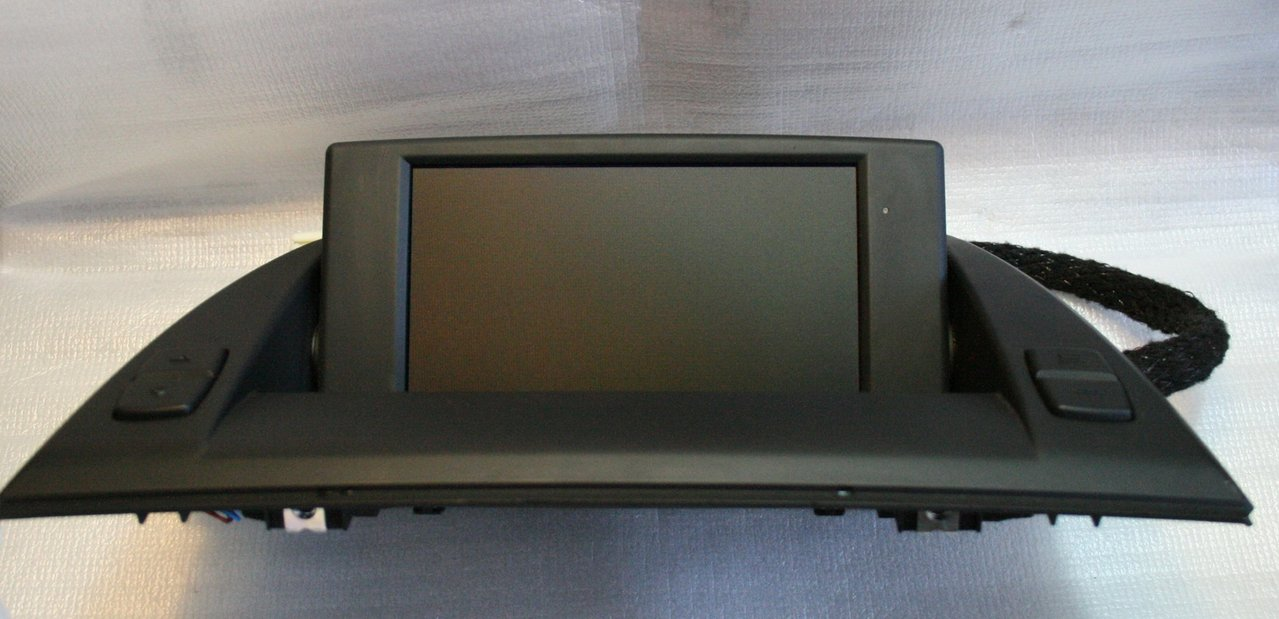 Central Information Display On Board Monitor Bmw X3
