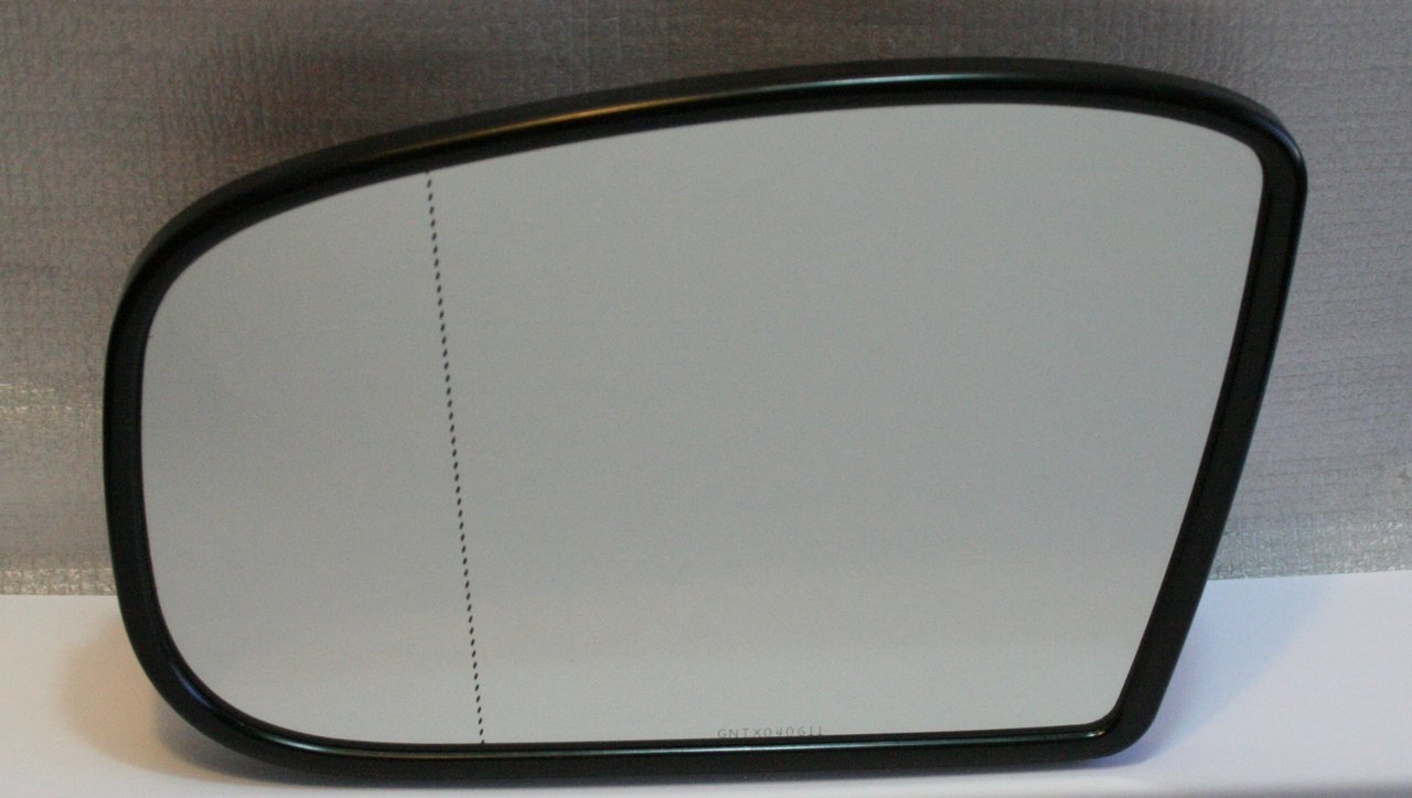 Mirror glass heated wide angle left electrochromatic for Mercedes benz mirror