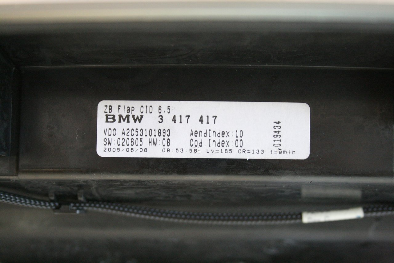 Central Information Display On Board Monitor Bmw X3 E83 3417417 Bmw Recambios